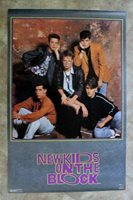 New Kids on the Block IV 1990 Funky Poster #3280 FN