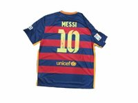 2015-2016 Lionel Messi Signed Soccer Jersey Auto PSA/ DNA/ Itp 6A70657