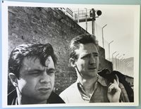 "Robert Blake and Scott Wilson Photo from Motion the Film ""In Cold Blood Picture"""