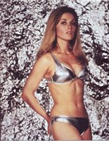 SHARON TATE 5x6 PICTURE SEXY SILVER BIKINI PHOTO