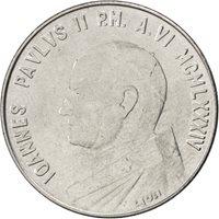 Vatican, Jean-Paul II, 100 Lire 1984, KM 180