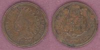 Indian Head Cents 1897 1c 1 in Neck