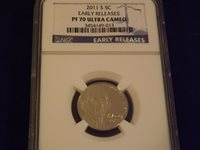 2011-S Nickel Early Releases NGC PF 70 Ultra Cameo