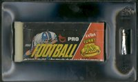 Football Empty Wax Pack Box GAI 6.5 EX-MT+