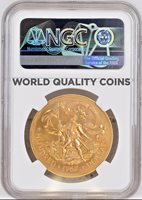 Bahamas 1967 Set 4 Gold Coins Adoption of Constitution NGC MS65-68
