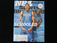 Timberwolves KARL ANTHONY TOWNS Sports Illustrated NBA PREVIEW Minnesota 2015 UK