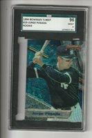 Jorge Posada, 1994 Bowmanr's Best (Yankees Star Catcher) SGC 96 Mint 9