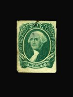USA Stamp/Confederate States/Regular Issues -Used, VF S#13 Postally used with a