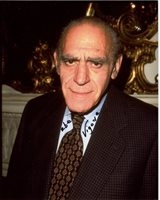 ABE VIGODA signed autographed photo