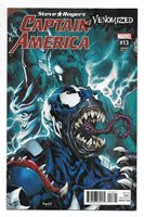 Marvel Steve Rogers Captain America #13 Venomized Variant