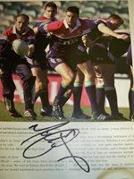 Matt Dawson signed image