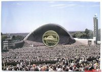 ESTONIA 1 KROON 1999 SONG MUSIC FESTIVAL - SCENE - BU IN SPECIAL PACK