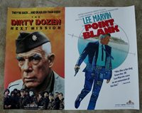 Dirty Dozen Next Mission Point Blank 1988 Lee Marvin Video PROMO Poster FN