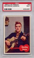 1956 Elvis Presley - Recording Session #43 PSA 7