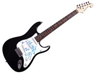 Sharon Jones Signed Autographed Electric Guitar Uacc Rd COA AFTAL