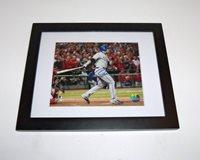 Texas Rangers JOSH HAMILTON Signed Autographed FRAMED WS Baseball 8x10 Photo COA