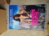 Howard Stern Private Parts Video Release Movie poster 1sheet