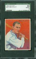 "1933 Goudey #207 Melvin ""Mel"" Ott SGC 88 NM/MT 8"