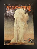 Northern Pacific Yellowstone Park Line, Yellowstone Booklet 1933