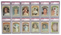 1972 Topps Cloth Stickers Complete Set (33) - #1 on the PSA Set Registry!