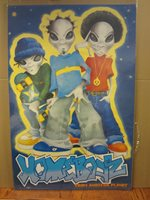 vintage Homeboyz from another planet alien poster 1998 3179
