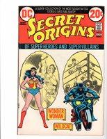 Secret Origins #3 with Wonder Woman & Wildcat, Very Fine Condition*