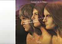Emerson Lake & Palmer - autographed LP sleeve #1985