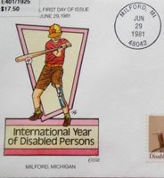 FDC'S * 8 * COLLINS HANDPAINTED COVERS 1981 MIX SUBJECTS MINT
