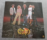 Styx 1977 Group Photo Grand Illusion A&M Records Canada Music Poster GVG