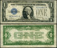 FR. 1602 $1 1928-B Silver Certificate Experimental Y-B Block VF