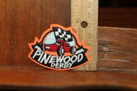 Vintage Boys Scouts Embroidered Patch Pinewood Derby