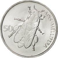 Slovénie, République, 50 Stotinov, 1993, KM 3