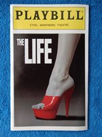 The Life - Ethel Barrymore Theatre Playbill - May 1997 - Sam Harris - Cooper
