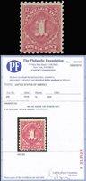 J59, Mint VF OG NH WITH 2010 PFC Cat $10,000.00 - LD