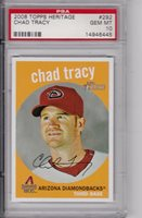 Chad Tracy, 2008 Topps Heritage, Gem MT 10