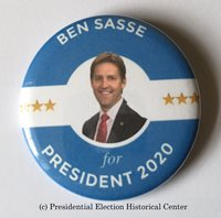 Ben Sasse 2020 Presidential Hopeful Campaign Button (SASSE-705)