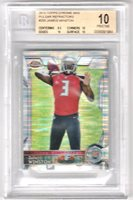 Jameis Winston 2015 Topps Chrome Mini Refractor RC *POP 2* BGS 10 PRISTINE (9.5)
