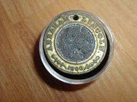 RELIC 1860 A. LINCOLN ELECTION TOKEN
