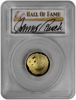 2014-W Baseball Hall of Fame 1976 World Series MVP Award (PCGS-PR70DCAM): Johnny Bench (1 of 1)