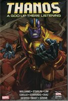 THANOS: A GOD UP THERE LISTENING~ MARVEL HARCOVER NEW SEALED