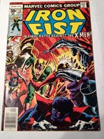 iron fist # 15 , 1977 x-men appearance