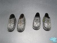 1976 Kenner Six Million Dollar Man Part Maskatron Pair of Shoes