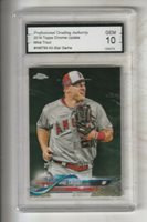 Mike Trout,2018Topps Chrome Update (Angels), Gem Mint 10