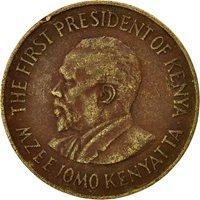 Kenya, 10 Cents, 1977, VF(30-35), Nickel-brass, KM:11