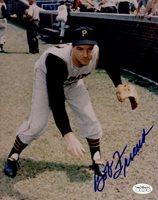 1951-65 Pittsburgh Pirates Bob Friend Autographed 8x10 Color Photo JSA Hologram