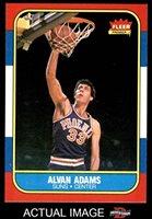 e37ae31ca 1986 Fleer   2 Alvan Adams Phoenix Suns (Basketball Card) Dean s Cards 8 -  NM MT