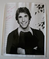Henry Winkler Signed Picture Autographed