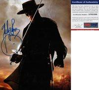 Antonio Banderas Signed 11x14 Photo El Zorro Puss In Boots PSA/DNA COA