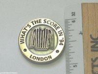 Whats The Score London 1994 Baseball Scorers Pin (#038)