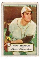1952 Topps #229 Gene Beardon - St. Louis Browns, Good - Very Good Condition*